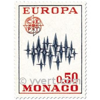 n° 883/884 -  Selo Mónaco Correios