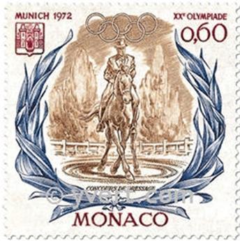 n.o 890/893 -  Sello Mónaco Correos