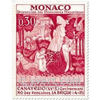 n.o 905/909 -  Sello Mónaco Correos