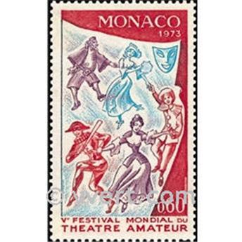 n.o 927 -  Sello Mónaco Correos