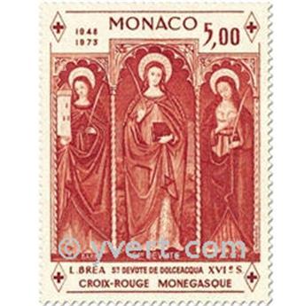 n.o 933 (BF 7) -  Sello Mónaco Correos