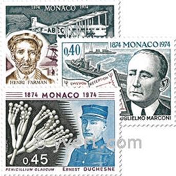 n.o 959/961 -  Sello Mónaco Correos