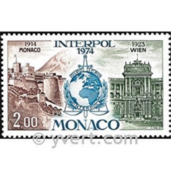 n.o 966 -  Sello Mónaco Correos