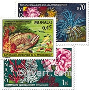 nr. 981/983 -  Stamp Monaco Mail