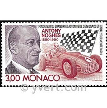 n° 1716 -  Timbre Monaco Poste