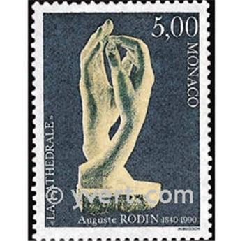 n° 1748 -  Timbre Monaco Poste