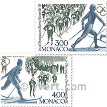 n.o 1770/1773 -  Sello Mónaco Correos