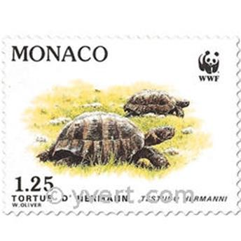 n° 1805/1808 -  Selo Mónaco Correios