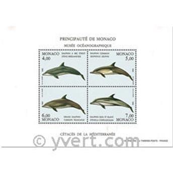 n° 1821/1824 (BF 56) -  Timbre Monaco Poste