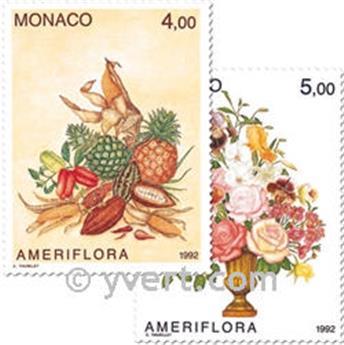 n.o 1830/1831 -  Sello Mónaco Correos