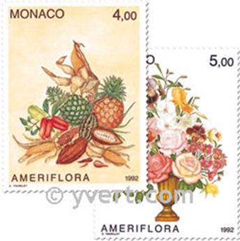 nr. 1830/1831 -  Stamp Monaco Mail