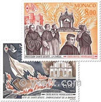 n.o 1842/1843 -  Sello Mónaco Correos