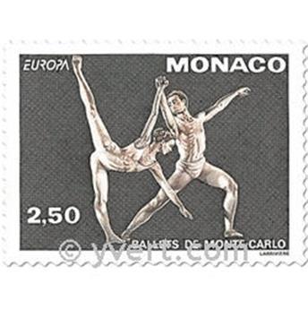 n.o 1875/1876 -  Sello Mónaco Correos