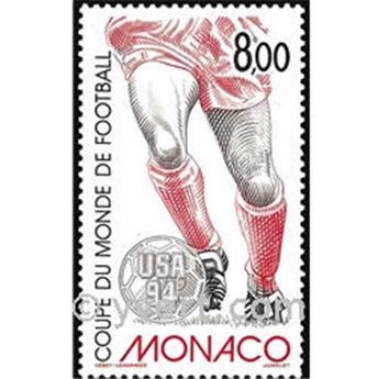 n° 1940 -  Timbre Monaco Poste
