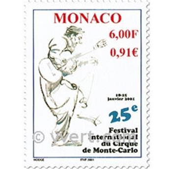 n.o 2289/2293 -  Sello Mónaco Correos