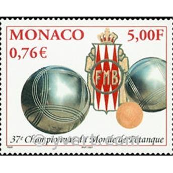 n.o 2303 -  Sello Mónaco Correos
