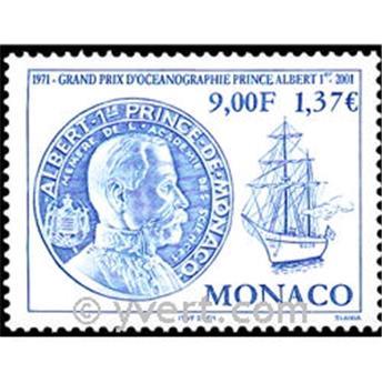 n° 2307 -  Selo Mónaco Correios