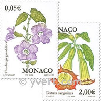 n.o 2321/2322 -  Sello Mónaco Correos