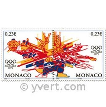 n° 2336/2337 -  Selo Mónaco Correios