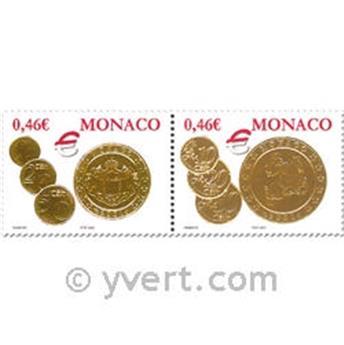 n.o 2356/2357 -  Sello Mónaco Correos