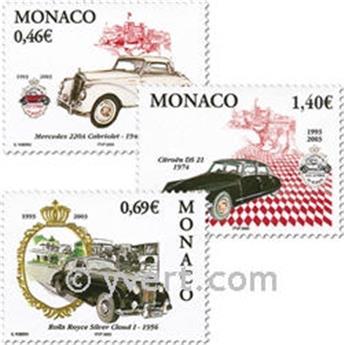 n° 2369/2371 -  Selo Mónaco Correios