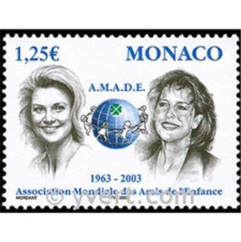 n° 2379 -  Selo Mónaco Correios