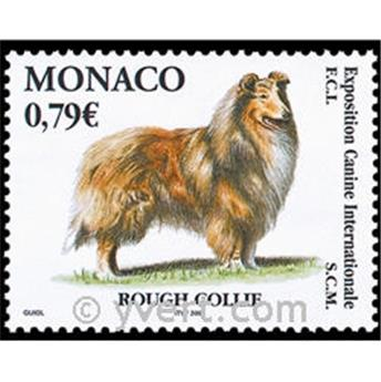 n° 2388 -  Selo Mónaco Correios
