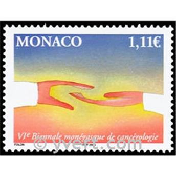 n° 2424 -  Selo Mónaco Correios