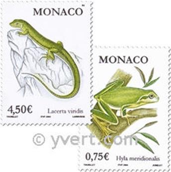 n° 2429/2430 -  Selo Mónaco Correios