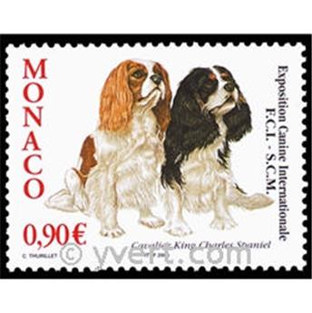 n° 2434 -  Selo Mónaco Correios