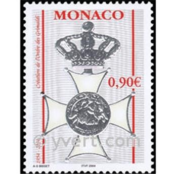 n° 2441 -  Selo Mónaco Correios