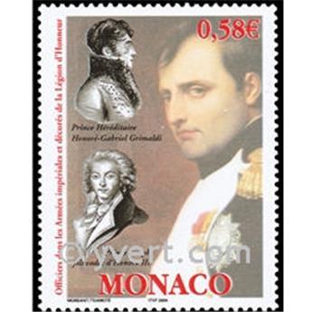 n° 2445 -  Selo Mónaco Correios