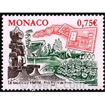 n° 2450 -  Selo Mónaco Correios