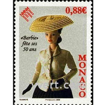 n° 2667 -  Selo Mónaco Correios