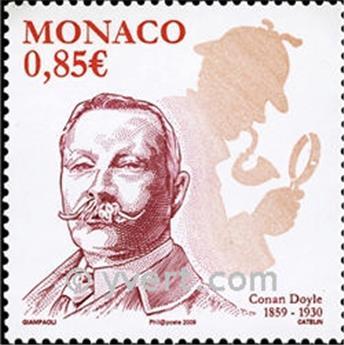 n° 2672 -  Selo Mónaco Correios