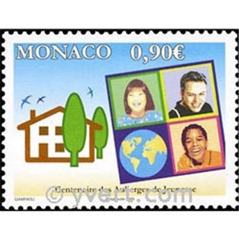n° 2694 -  Selo Mónaco Correios