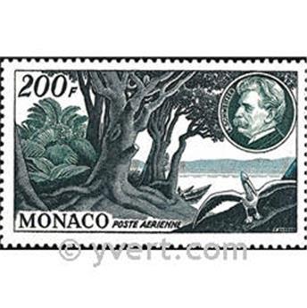 n° 59 -  Selo Mónaco Correio aéreo