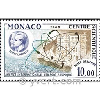n.o 80 -  Sello Mónaco Correo aéreo