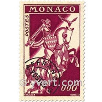 n° 19/22 -  Selo Mónaco Pré-obliterados