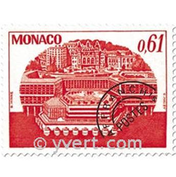 n° 54/57 -  Selo Mónaco Pré-obliterados