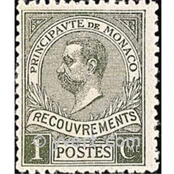nr. 8 -  Stamp Monaco Revenue stamp