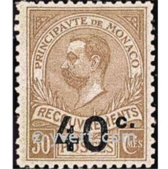 nr. 12 -  Stamp Monaco Revenue stamp