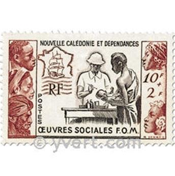 n.o 278 -  Sello Nueva Caledonia Correos