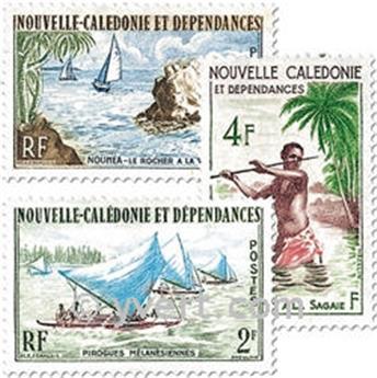 n.o 302/304 -  Sello Nueva Caledonia Correos