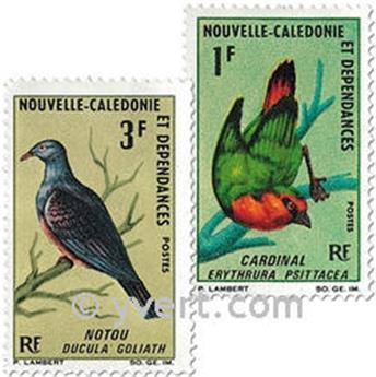 n.o 330/331 -  Sello Nueva Caledonia Correos