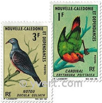 nr. 330/331 -  Stamp New Caledonia Mail