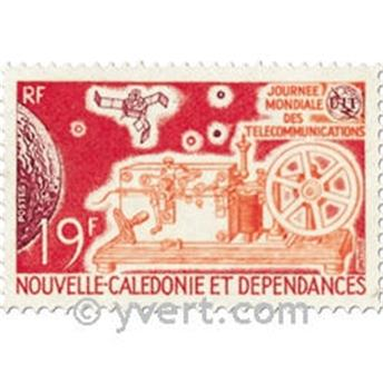 n.o 374 -  Sello Nueva Caledonia Correos