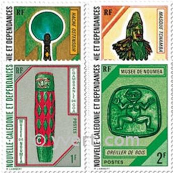 nr. 381/384 -  Stamp New Caledonia Mail