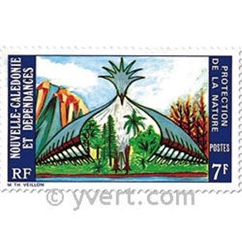 n.o 390 -  Sello Nueva Caledonia Correos