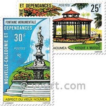 n.o 402/403 -  Sello Nueva Caledonia Correos